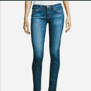 AG The Stilt Cigarette Jeans.
